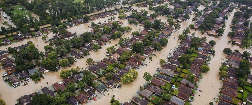 Hurricane Harvey Houston Texas Flood disaster