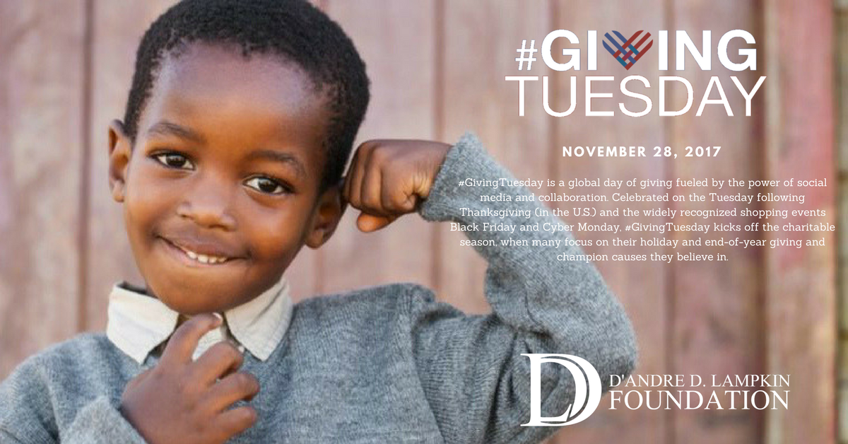 Join us on Giving Tuesday!