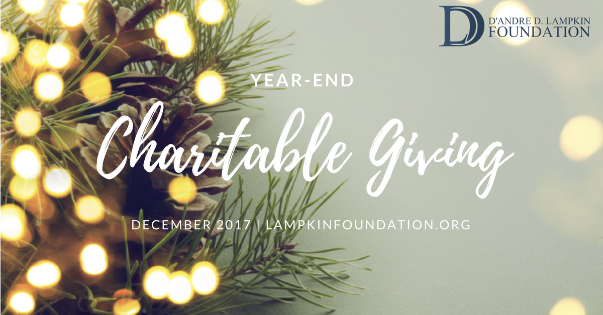 Year-End Charitable Giving