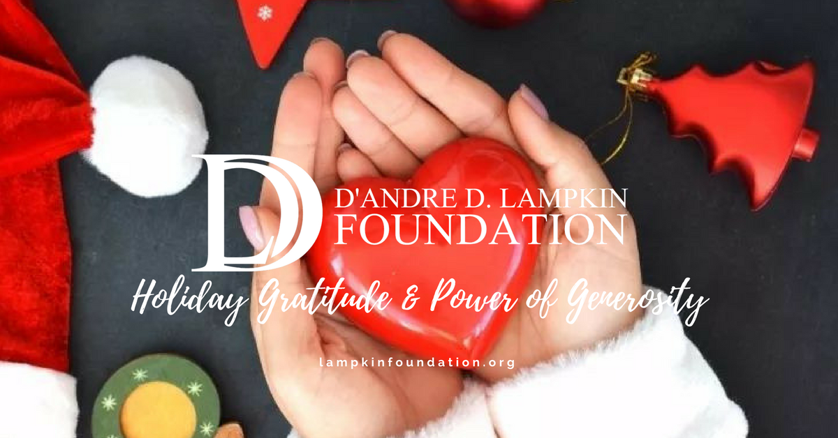 Holiday Gratitude & The Power of Your Generosity