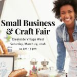 Small Business & Craft Fair DDLF Creekside