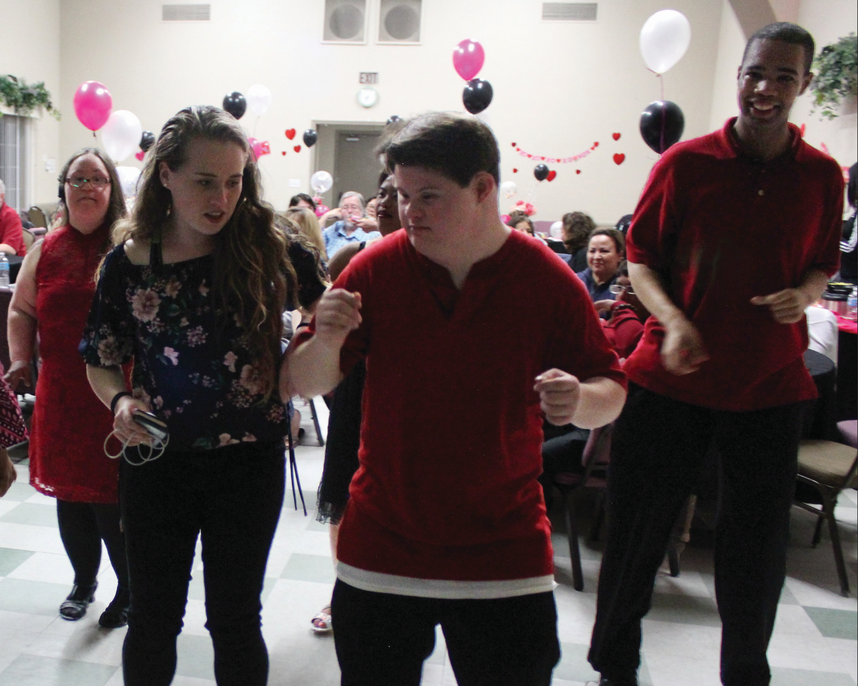 Allison Greene hosting Best Buddies Dance