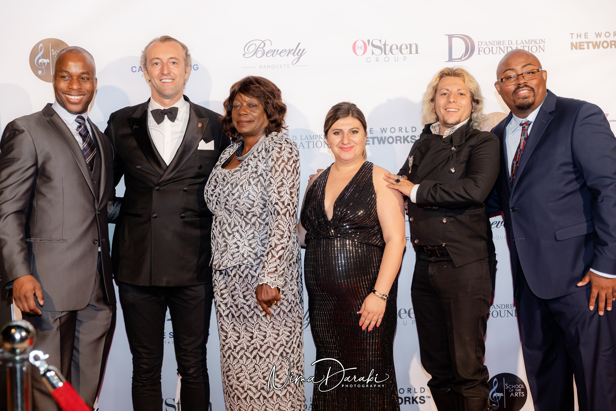 D'Andre Lampkin Foundation Gala Fundraiser Red Carpet