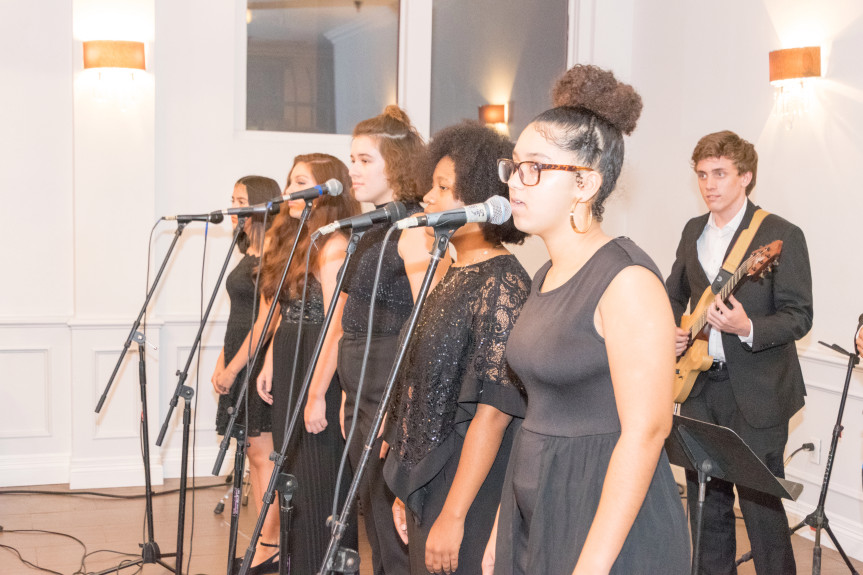 The Lampkin Foundation held its Social Good Benefit Gala at the Beverly Hotel Building at Beverly Banquets in Ontario, Calif., on Sept. 28, 2018. Guests were entertained by students from the Inland Conservatory of Performing Arts.