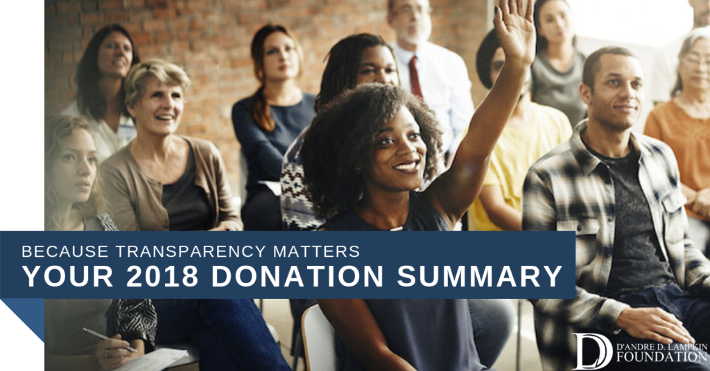 Your Donation Summary Report